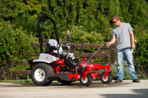 Keeping the mower clean from accumulated debris makes it easier to spot fuel system problems and reduces the risk of fire.