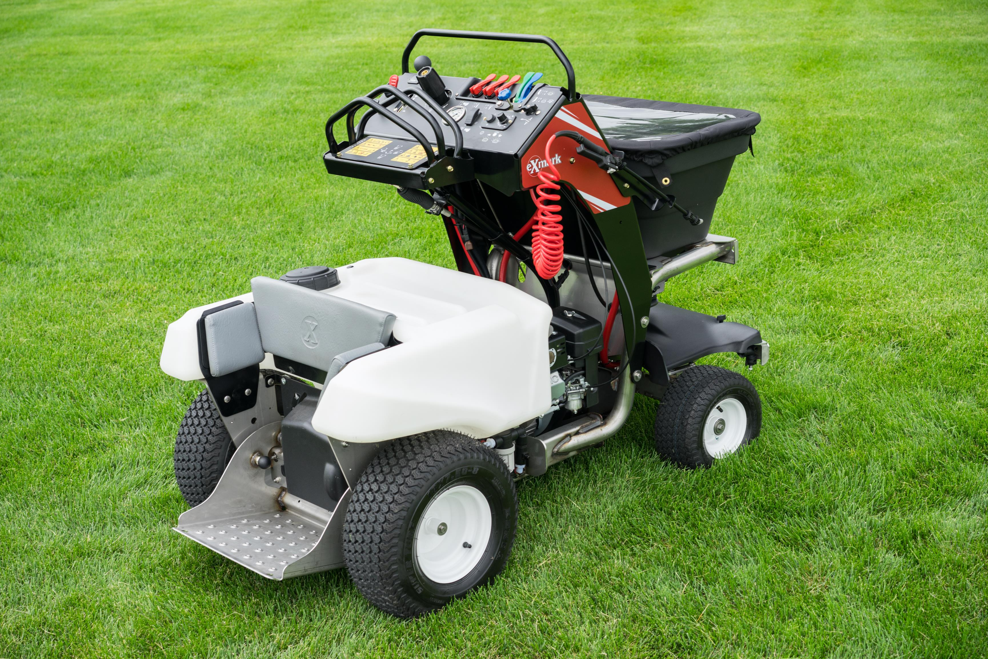 Exmark Expands Lawn Care Line With Stand On Spreader