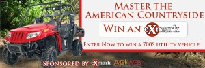 You could be the lucky winner of a new top-of-the-line Exmark 700S utility vehicle!