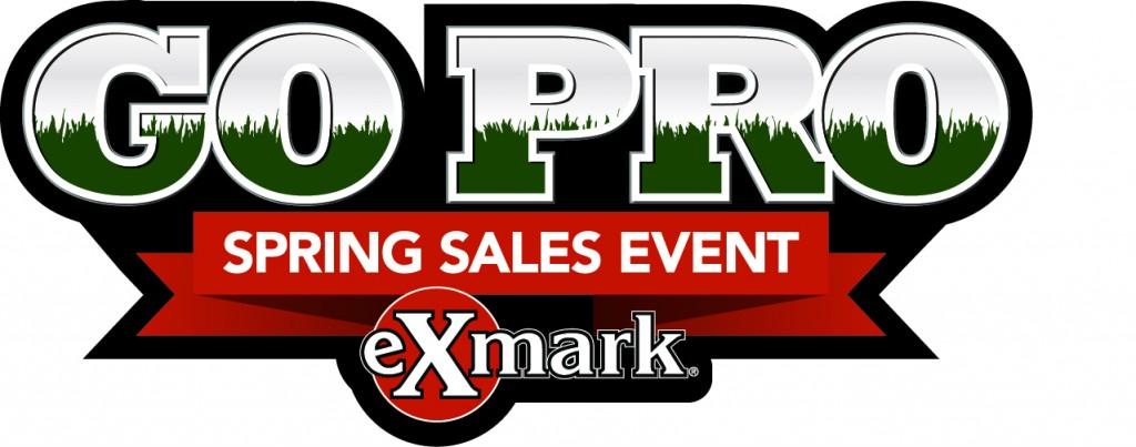 Exmark Go Pro Spring Sales Event logo