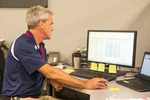 Exmark Engineering Manager, Trevor Porter - Photo