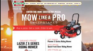 Exmark Mow Like a Pro Home Page