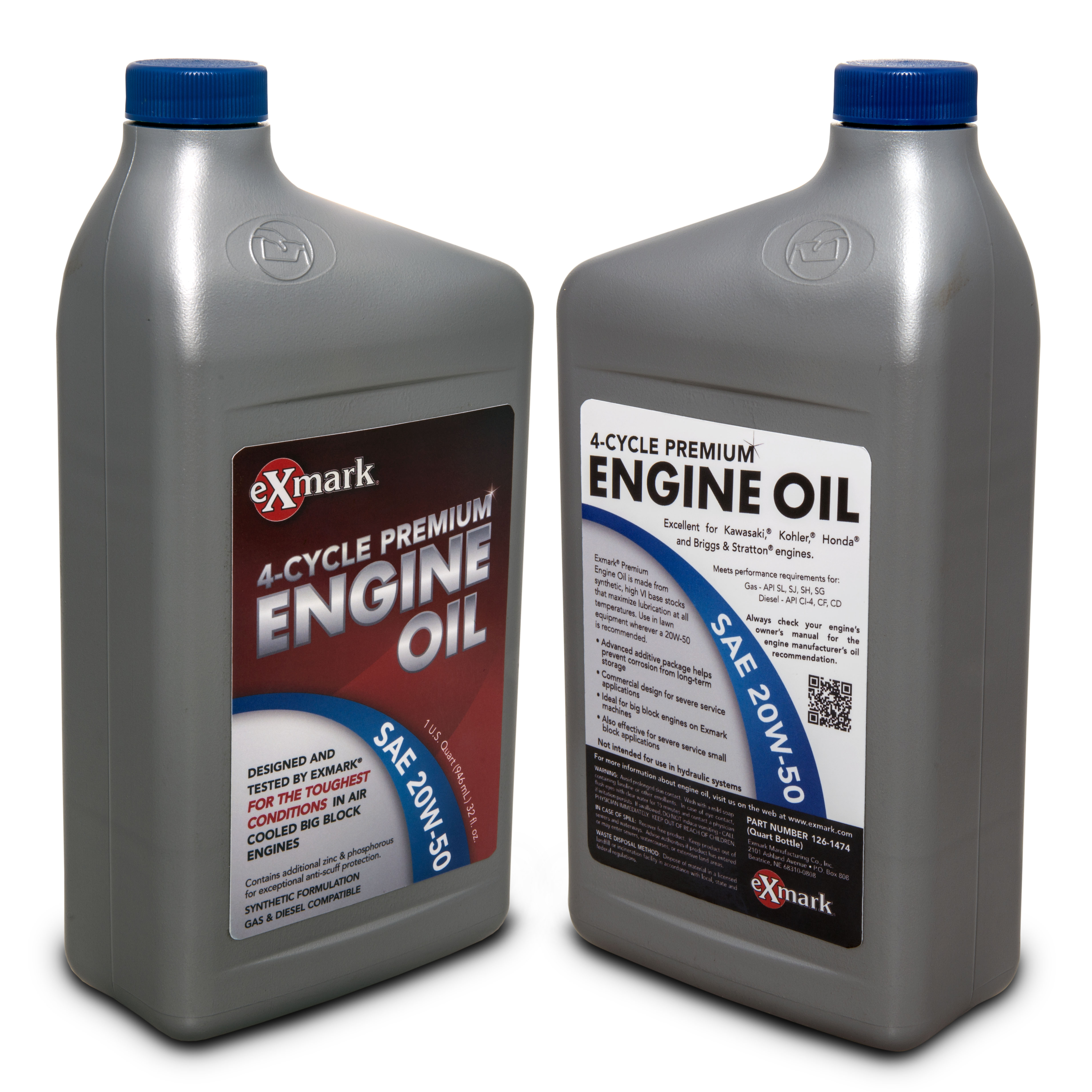 Mower maintenance for winter storage exmark blog for What motor oil should i use