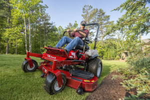 Exmark Lazer Z X-Series commercial zero-turn mower