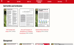 UNL Turfgrass Sciences example