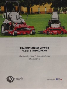 Click the image to download the complete Transitioning Mower Fleets to Propane white paper in Adobe PDF format.