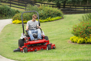 Exmark Lazer Z E-Series commercial zero-turn mower