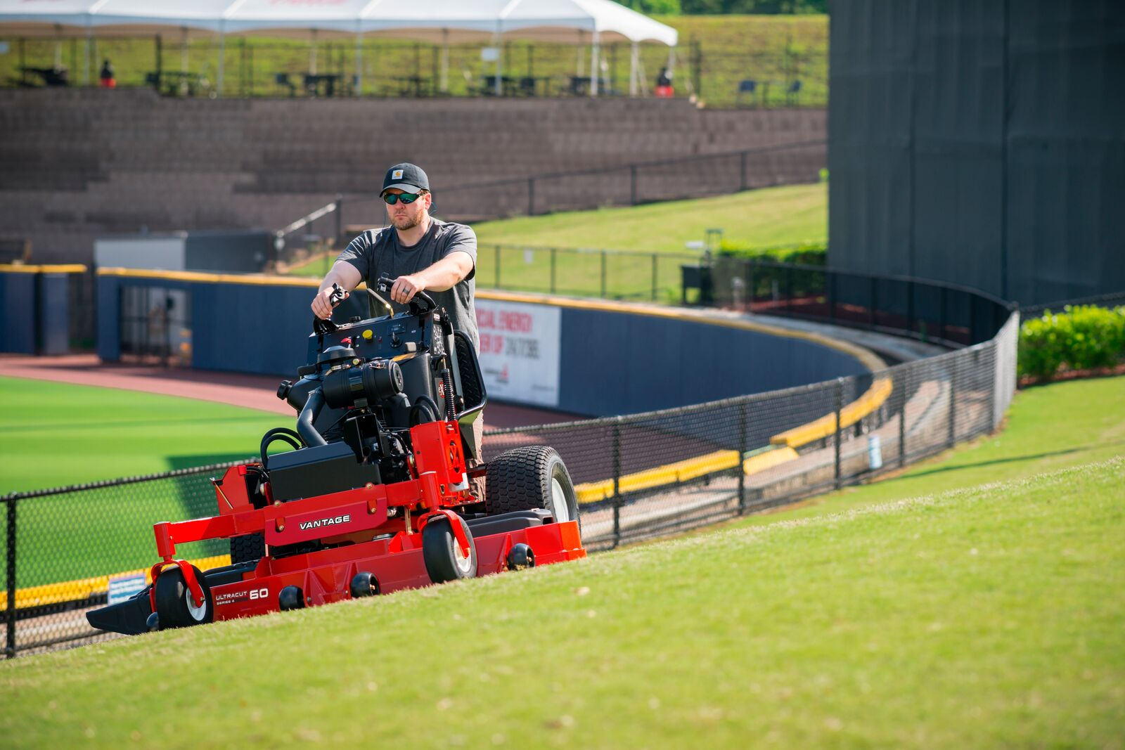 The Advantages of Stand-on Mowers for Lawn Care Businesses | Exmark Blog