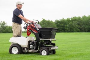 Exmark commercial-grade lawn sprayer