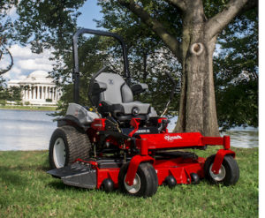 "The ""Our Winning Green Space"" contest winner will receive a new Lazer Z X-Series zero-turn riding mower and a Commercial 30 walk-behind mower package from Exmark."