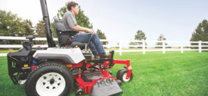 New for 2018: Exmark Radius S-Series Zero-Turn Mower with Suspension Platform