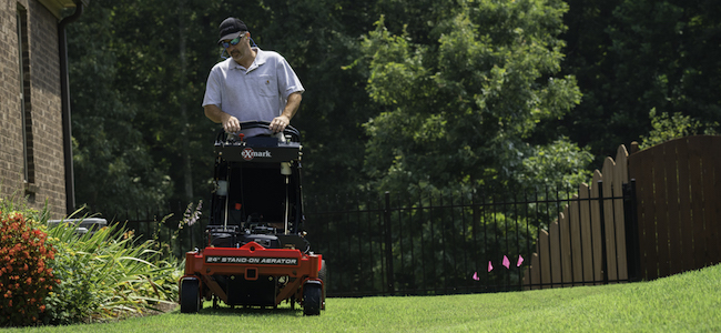 Early spring tasks like aerating will get your lawn off to the right start