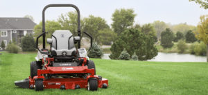 Exmark RED Technology and EFI Mowers